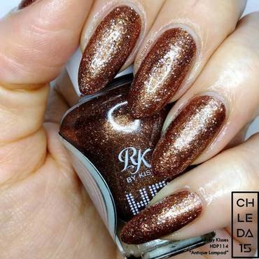 "Ruby Kisses HDP114 ""Antique Lampad"" Swatch by chleda15"