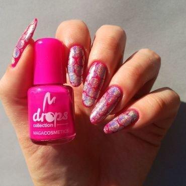 Rozowe paznokcie z holo thumb370f