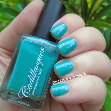 Cadillacquer Where the king goes, The realm follows Swatch by Dora Cristina Fernandes