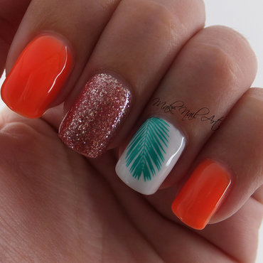 Neon Summer Gel Manicure nail art by Make Nail Art