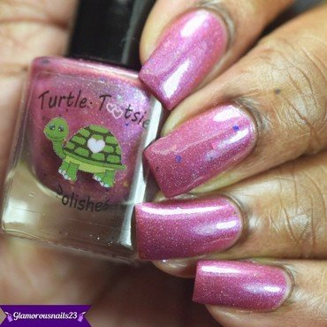 Turtle Tootsie Polishes A Rose Is A Rose(LE) Swatch by glamorousnails23
