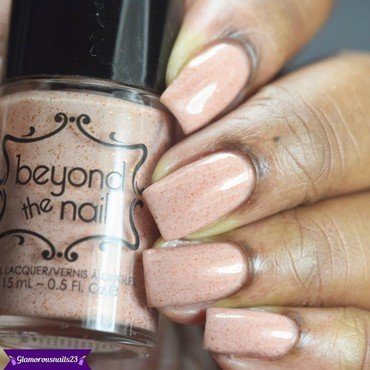 Beyond The Nail Chery Peach(LE) Swatch by glamorousnails23