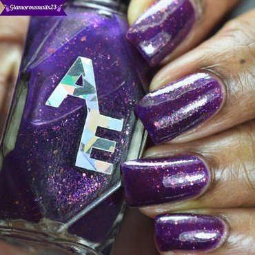 Alter Ego Polish Poised Heroine(LE) Swatch by glamorousnails23