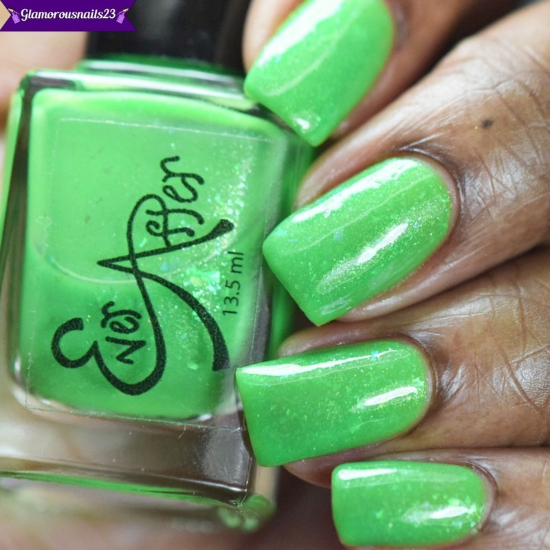 Ever After Polish Seaweed Facials Swatch by glamorousnails23