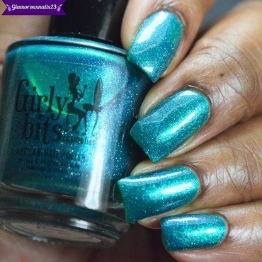Girly Bits Cosmetics Very Important Polish(LE) Swatch by glamorousnails23
