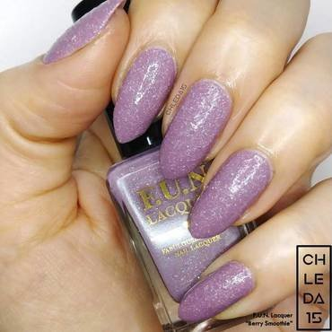 "F.U.N. Lacquer ""Berry Smoothie"" Swatch by chleda15"