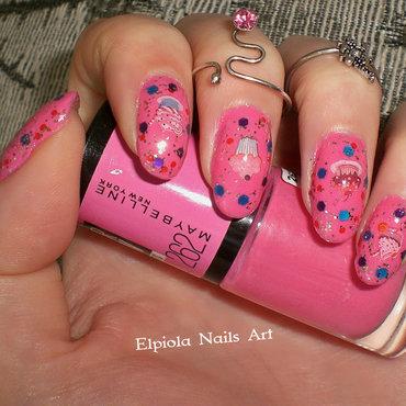 Dessert & Candy nail art by Elpiola Lluka