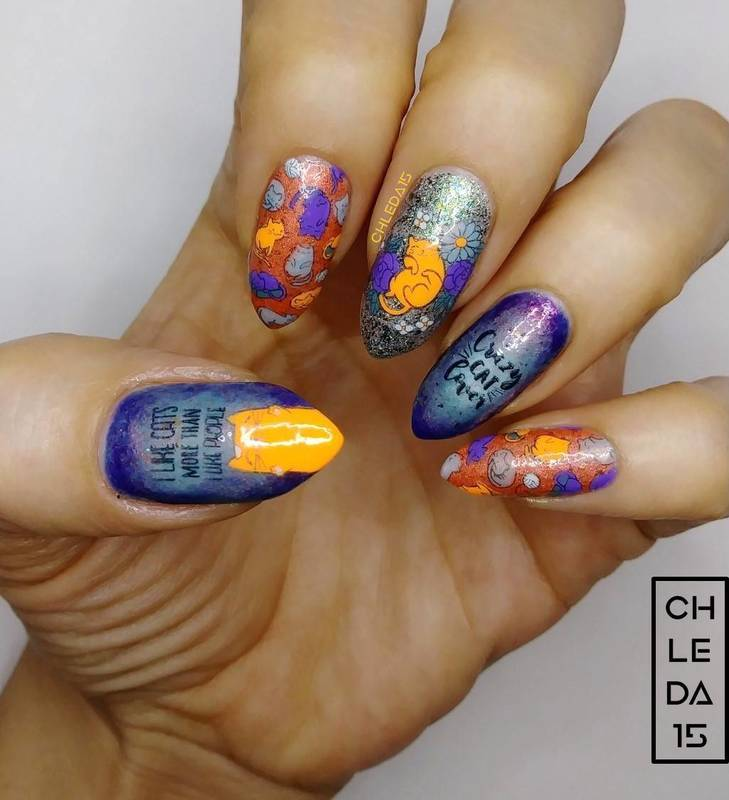 2019 #27 nail art by chleda15
