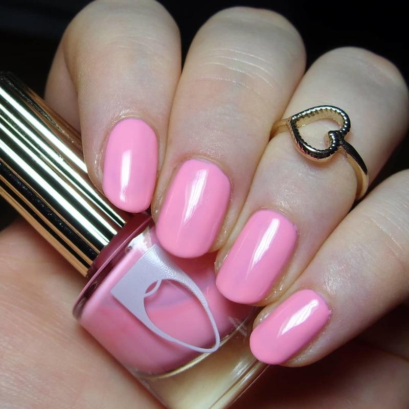 Flossgloss Playa del Pink Swatch by nailicious_1