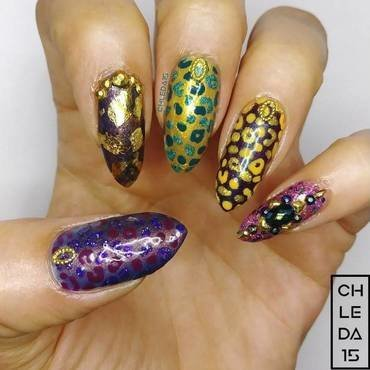 2019 #30 nail art by chleda15