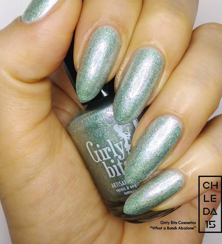 "Girly Bits Cosmetics ""What a Bunch Abalone"" Swatch by chleda15"