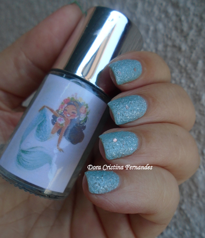 Fraken Nail Polish SeaFom In My Veins Swatch by Dora Cristina Fernandes