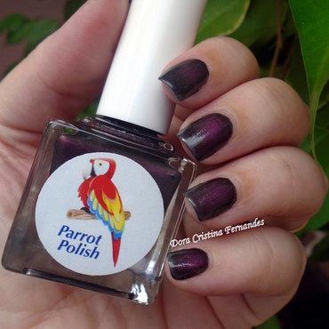 Parrot Polish Versatile Lady Swatch by Dora Cristina Fernandes
