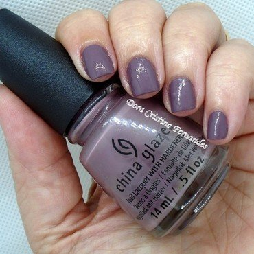 China Glaze Below deck Swatch by Dora Cristina Fernandes