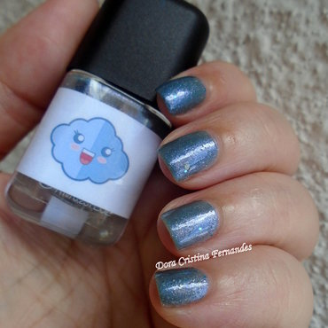 Franken Nailpolish Above The Clouds Swatch by Dora Cristina Fernandes