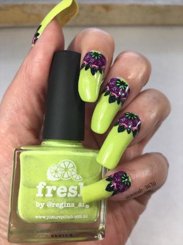 Fresh nail art by NinaB