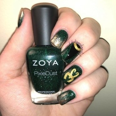 Loki Nail Art nail art by lifedippedinpolish