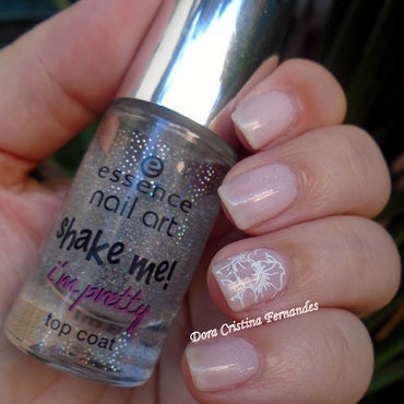 Stars Rain Down On Me nail art by Dora Cristina Fernandes