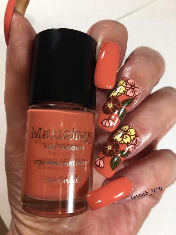 Pumpkin Spice nail art by NinaB