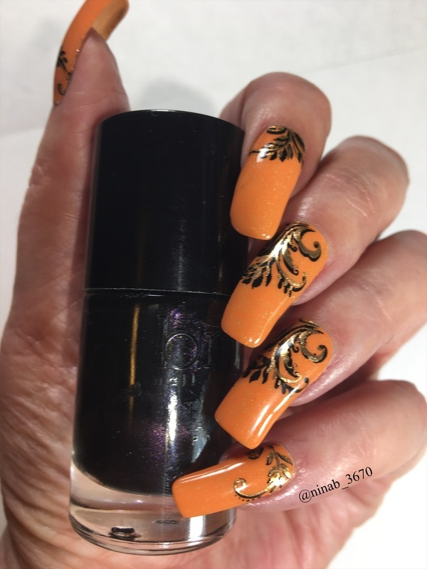 Halloween 20 nail art by NinaB