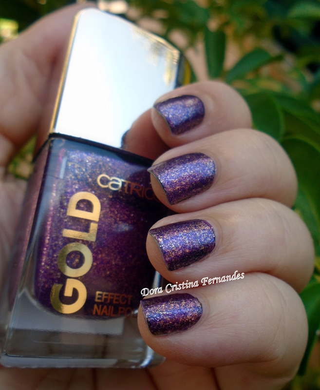 Catrice Gold Effect Splendid Atmosphere Swatch by Dora Cristina Fernandes