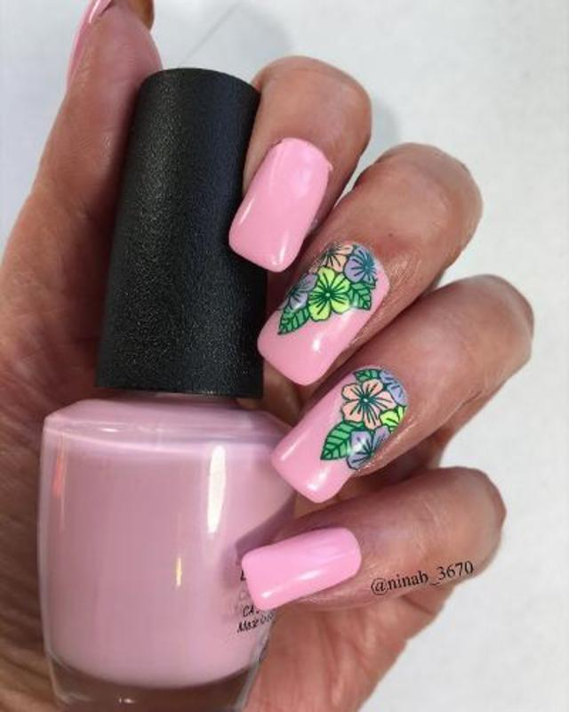 First Day of Spring nail art by NinaB