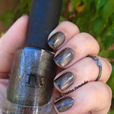masura magnetic polish Winds Of Orchids Swatch by Dora Cristina Fernandes