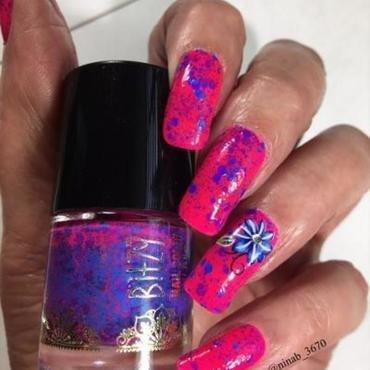 Still Summer nail art by NinaB