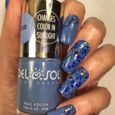 Almost Fall nail art by NinaB
