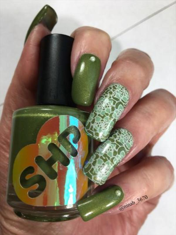 Full on Fall nail art by NinaB