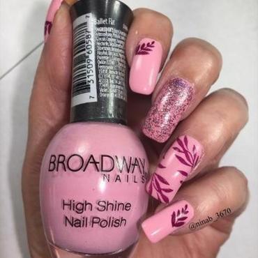 Girly Fall Nails nail art by NinaB