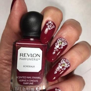 Temp Change nail art by NinaB