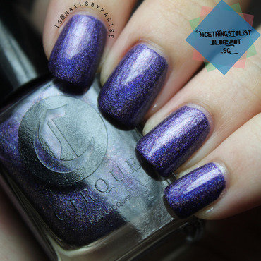 Cirque Colors Fascination Street Swatch by Karise Tan