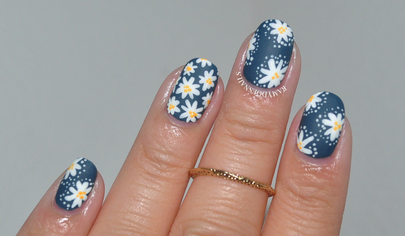 Ooopsie Daisy... nail art by Ramy Ang