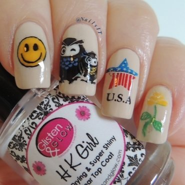 Father's Day tribute nail art by NailsIT