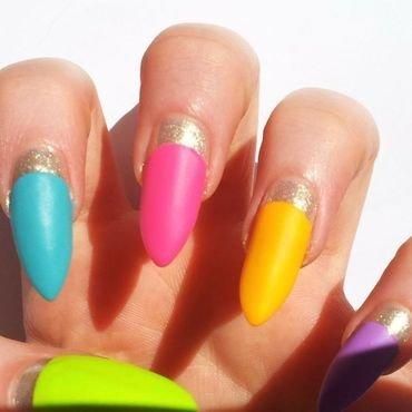 Summer nails nail art by nailicious_1