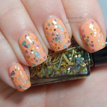 Zoya Cole and Nayll Crystal Lagoon Swatch by Lacquer or Leave Her! Michelle Chouinard