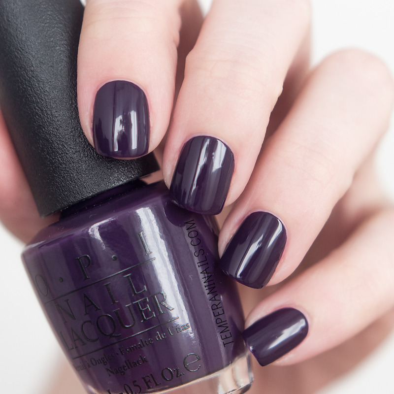 OPI A Grape Affair Swatch by Temperani Nails