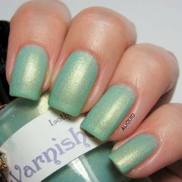 The Lady Varnishes Lothlorien Swatch by Alison Fisher