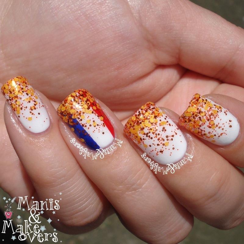 Hup, Holland, Hup! nail art by Lothwen Akira