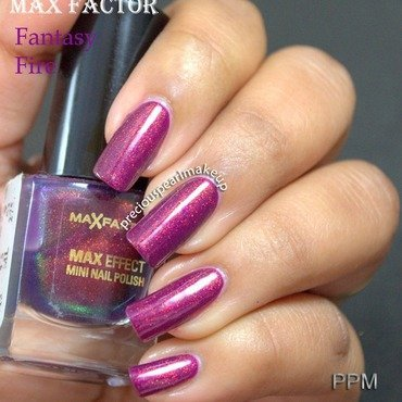 Max Factor Fantasy Fire Swatch by Pearl P.