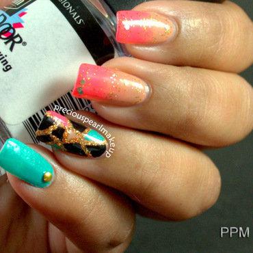 Fashion Inspired Nails nail art by Pearl P.