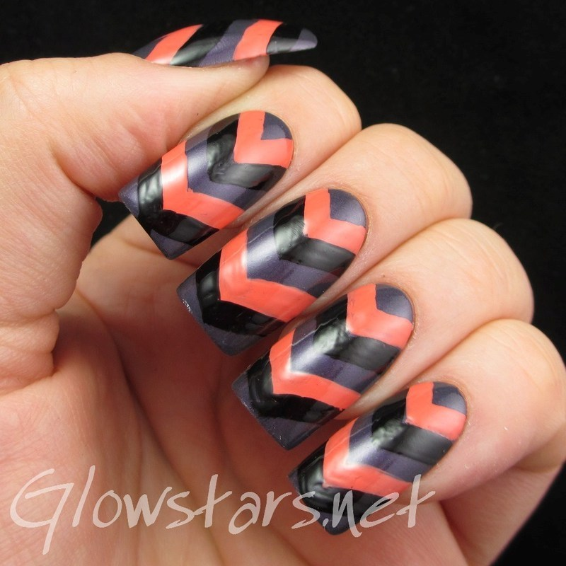 Your virgin is wilder than the waves inside your heart nail art by Vic 'Glowstars' Pires