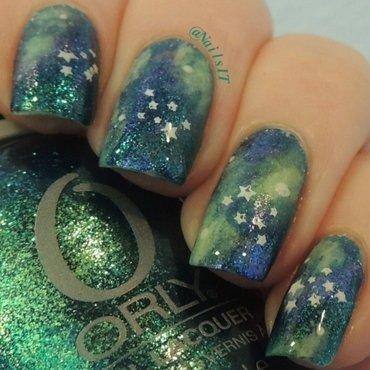 Galaxy Nails nail art by NailsIT