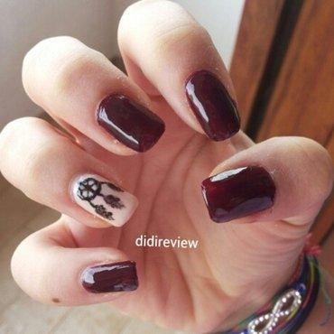 dreamcatcher  nail art by Didi didireview