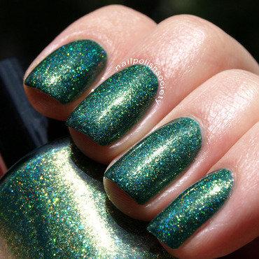Renaissance Custom Lacquer Emerald Envy Swatch by Emiline Harris
