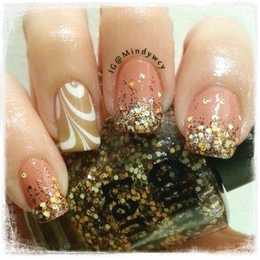 glitterlambs cinnamon bun Swatch by mindywong