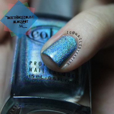 Color Club Over The Moon Swatch by Karise Tan