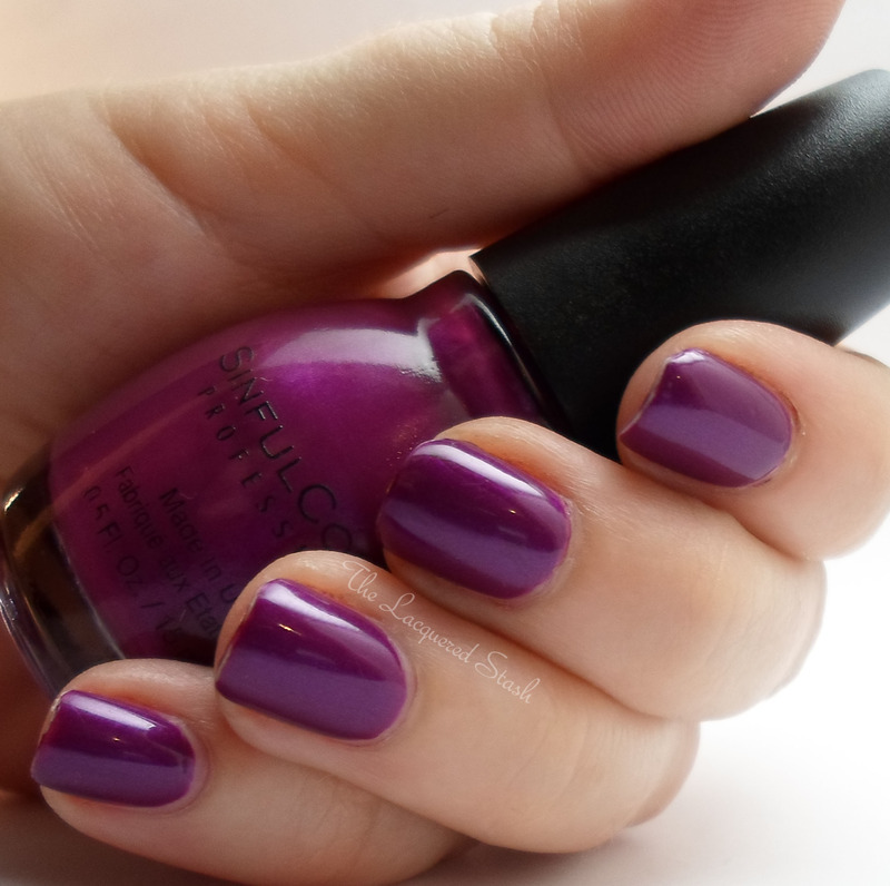 Sinful Colors Fig Swatch by Emma N.