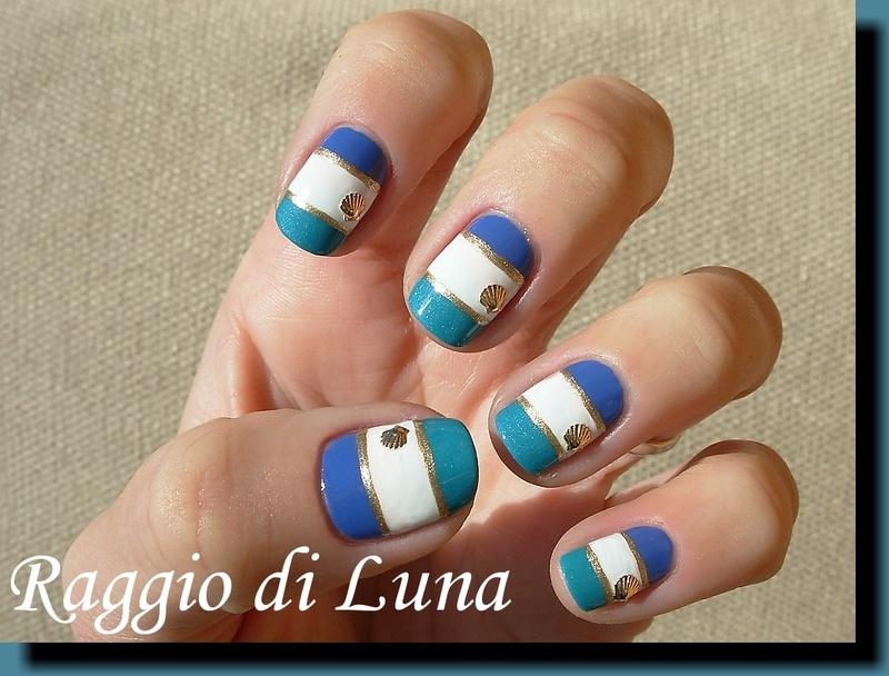 Mini Metal Shell Nail Art Decorations manicure nail art by Tanja